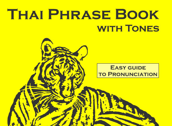 Thai phrasebook wholesale